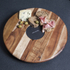 Natural Life NLAS001 Acacia Lazy Susan with Slate Plate - 35cm: Image 3