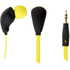 KitSound Active Sports Short Cable Earphones With In-Line Remote & Mic - Yellow: Image 2