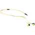 KitSound Active Sports Short Cable Earphones With In-Line Remote & Mic - Yellow: Image 3