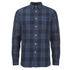 rag & bone Men's Beach Shirt - Blue Plaid: Image 1
