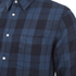 rag & bone Men's Beach Shirt - Blue Plaid: Image 4