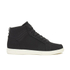 Crosshatch Men's Borneo High Top Trainers - Black: Image 1