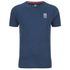 Crosshatch Men's Atlantic Back Print T-Shirt - Insigia Blue: Image 1
