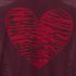 Sonia by Sonia Rykiel Women's Intarsia Heart & Tiger Print Jumper - Brownie/Navy/Black: Image 3