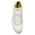 Novesta Star Dribble Hi-Top Trainers - White: Image 3