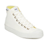 Novesta Star Dribble Hi-Top Trainers - White: Image 2