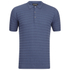 John Smedley Men's Runkel Sea Island Cotton Polo Shirt - Baltic Blue: Image 1