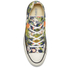 Converse Women's Chuck Taylor All Star Canvas Print OX Trainers - Inked/Egret/Black: Image 3