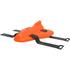 AquaPlane Swimming Aid - Orange Sunburst: Image 1