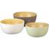 Parlane Tonal Bamboo Bowls - Brown (Set of 3) (80 x 180mm): Image 1