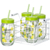 Parlane Set of Jars with Straws - Lemonade (Set of 4): Image 1