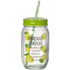 Parlane Set of Jars with Straws - Lemonade (Set of 4)