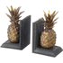 Parlane Pineapple Bookends - Metallic: Image 1
