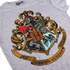 Harry Potter Hogwarts Logo Damen T-Shirt - Grau: Image 3