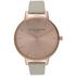 Olivia Burton Women's Big Dial Watch - Mink/Rose Gold: Image 1