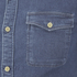 Selected Homme Men's None Sweat Denim Shirt - Light Blue Denim: Image 3