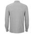 Selected Homme Men's Union Long Sleeve Shirt - Light Grey Melange: Image 2