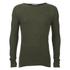 Selected Homme Men's Denton Crew Neck Sweatshirt - Dark Green: Image 1
