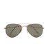 Selected Homme Men's Alberto Aviator Sunglasses - Gold: Image 1