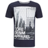 Dissident Men's Arrow Crane Graphic Print T-Shirt - True Navy: Image 1