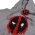 Marvel Deadpool Mens Paint Logo Hoody - Grijs: Image 2