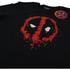 Marvel Men's Deadpool Paint Logo T-Shirt - Black: Image 2