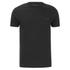 T-Shirt Homme Brave Soul Faustian Zip -Noir: Image 1