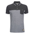 Brave Soul Men's Othello Panel Polo Shirt - Charcoal: Image 1
