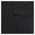 Brave Soul Men's Charlie Pocket Long Sleeve Shirt - Black: Image 3