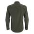 Brave Soul Men's Charlie Pocket Long Sleeve Shirt - Khaki: Image 2