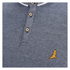 Brave Soul Men's Stage Long Sleeve Polo Shirt - Navy/White: Image 3