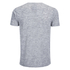 Brave Soul Men's Exit Zip Pocket Fleck T-Shirt - Light Grey: Image 2