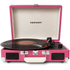 Crosley Cruiser Portable Turntable with Built-In Stereo Speakers - Pink