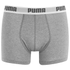 Puma Men's 2 Pack Basic Boxers - Red/Grey: Image 4