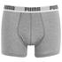 Puma Men's 2er- Pack Basic Boxers - Rot/Grau: Image 4