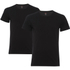 Levi's Men's 2-Pack Crew Neck T-Shirt - Black: Image 1