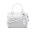 Lauren Ralph Lauren Women's Yolanda Convertible Satchel Bag - Bright White: Image 1