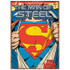 DC Comics Superman Super Suit Large Tin Sign