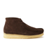 Clarks Originals Men's Wallabee Boots - Brown Suede: Image 1