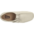 Clarks Originals Women's Wallabee Shoes - Off White: Image 3