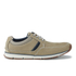 Clarks Men's Beachmont Edge Nubuck Trainers - Taupe: Image 1