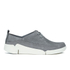 Clarks Women's Tri Angel Leather Sporty Shoes - Grey/Blue: Image 1
