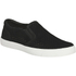 Clarks Women's Glove Puppet Suede Slip-On Trainers - Black: Image 2