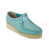 Clarks Originals Women's Wallabee Shoes - Light Blue: Image 4