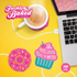 Freshly Baked Cupcake USB Cup Warmer: Image 2