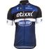 Etixx Quick-Step Short Sleeve Long Zip Jersey 2016 - Black/Blue: Image 1