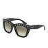 Valentino Women's Rockstud Square Frame Sunglasses - Black: Image 2