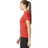 adidas Women's Response Team Short Sleeve Jersey - Shock Red: Image 4