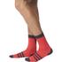 adidas Infinity 13 Socks - Shock Red/Dark Grey: Image 3
