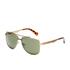 Calvin Klein Jeans Men's Aviator Sunglasses - Brown: Image 2